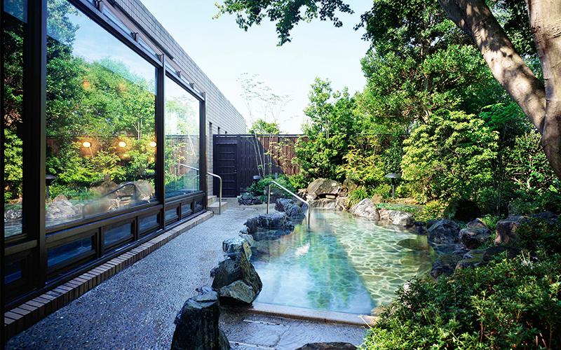 露天風呂付天然温泉